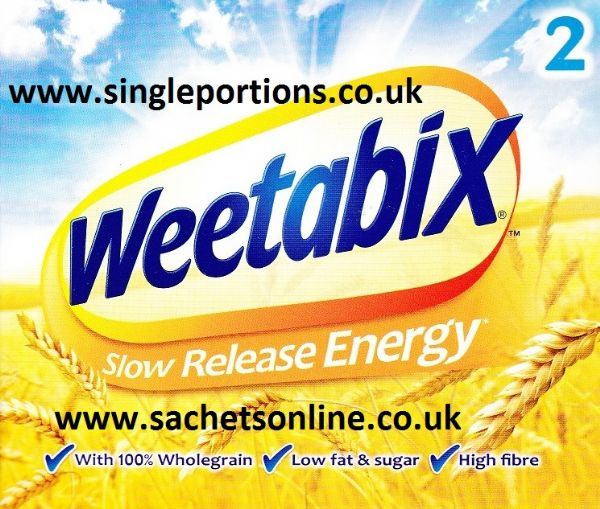 Weetabix - boxed double - single portions
